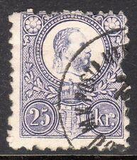 Hungary - 1871 Definitive Franz Josef - Mi. 13a VFU (fiscally used) (1)