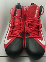 New Nike Alpha Menace Pro  NFL Falcons Men's Size 13 Football Cleats 866012-602