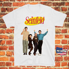 Seinfeld 90s Comedy TV Show Men's White T-Shirt Size S to 3XL New Free Shipping