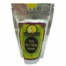 Seasoned Pioneers Thai Holy Basil Cooking Authentic Curry 10g Resealable Packet