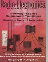 Radio-Electronics Magazine Feb 1971 , Replacement Transistors , Hi Fi Amplifiers