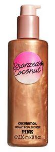Victoria's Secret Pink New! Bronzed Coconut COCONUT OIL Radiant Body Bronzer 236