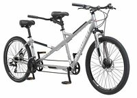 Schwinn Twinn Tandem Bicycle Featuring Low Step-Through and Lightweight Alumi...