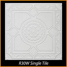 Ceiling Tiles Glue Up Styrofoam 20x20 R30 White lot of 100 pcs 270 sq ft