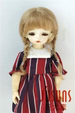 6-7inch Lovely Braids Doll Wigs YOSD 1/6 Mohair Girl BJD Doll Hair Many colors