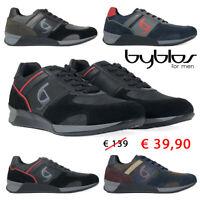 BYBLOS Scarpe da uomo sneakers Running casual sportive inverno blue nero grigio