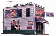 "N Scale - Green Door Lounge ""Laser-cut Building Kit"" BLN-1008"