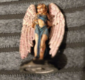 METAL MINIATURE RAL PARTHA EARLY PLANESCAPE D&D ERINYE RARE 1995/96 PAINTED