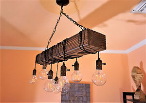 wood chandelier-rustic chandeliers-chandelier
