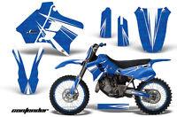 Graphic Kit Decal Sticker Wrap + # Plates For Yamaha YZ125 YZ250 93-95 CONT W U