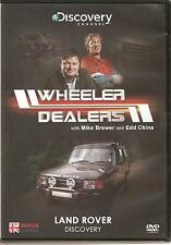 WHEELER DEALERS LAND ROVER DISCOVERY DVD WITH MIKE BREWER & EDD CHINA