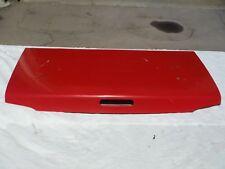#9 Miatamecca Trunk Lid Cover Classic Red 90-97 Miata MX5 Mazda NAY1152610E OEM