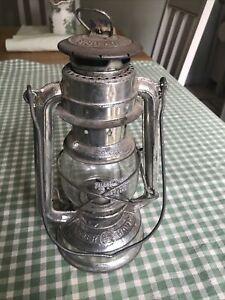 Vintage Storm / Hurricane Lantern, Feuerhand 275 Baby Kerosene Lamp C:-1950s ..