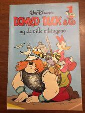 1993 Donald Duck & the Wild Vikings Comic Book Norwegian Original Marco Rota 42p