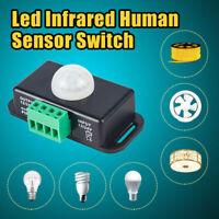 LED light Automatic DC 12V-24V Body Infrared PIR Motion Sensor Switch Tool