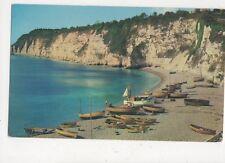 Devon Coast At Beer 1960s Postcard 637a