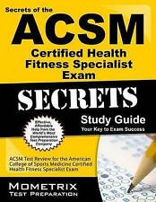 Secrets of the ACSM Certified Personal Trainer Exam Study Guide: ACSM Test Revie