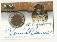 Renee O'Connor as Tyrella XENA Dangerous Liaisons Costume Autograph Card #AC12