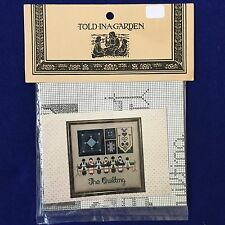Told In A Garden THE QUILTING Counted Cross Stitch Chart Pattern Amish TG-1