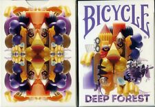 BICYCLE DEEP FOREST PLAYING CARDS DESIGNED by OMAR AQIL 2019 USPCC ~NEW/SEALED