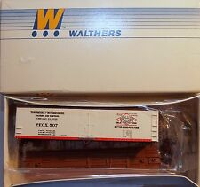 HO Walthers Peter Fox Packers and Shippers 40' Wood Reefer Car Kit