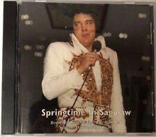 ELVIS SPRINGTIME IN SAGINAW MI<>LIVE 5/3/1977<>1995 STIS 7197 CD<>OLD STOCK<>OOP