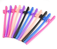 12 X Jumbo Hen Party Night Straws Willy Accessories Girls Out Do Novelty Fun