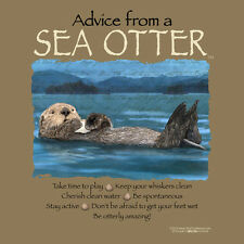 Advice From A Sea Otter Xxlarge Adult T-Shirt