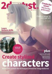 2D ARTIST MAGAZINE 120 Select Issue Collection On Disc