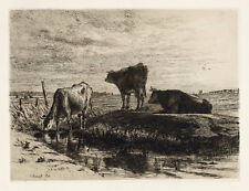 Joseph Foxcroft Cole original etching