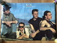 "1987 U2 ""Joshua Tree� Poster"