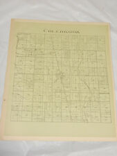 1874 Antique Map//COLEBROOK TOWNSHIP, ASHTABULA COUNTY, OH
