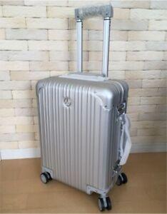 Mercedes Benz Aluminum Suitcase Carry Case Silver 32L