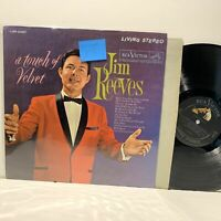Jim Reeves- A Touch Of Velvet- RCA Country Living Stereo LP- VG+-/VG+
