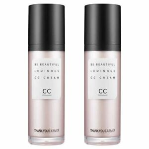 Thank You Farmer Be Beautiful Luminous CC Cream 2-Pack 1.4 FL oz each bottle