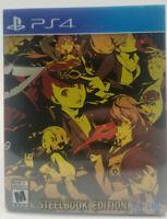 Persona 5 Royal Phantom Thieves Edition Steelbook w/ Slipcover NO GAME