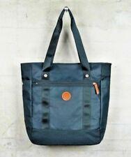 Genuine Fred Perry Coated Nylon Tote Shopper Bag Big Petrol Green Fashion BIG