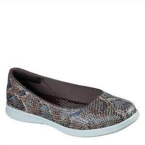 Skechers Womens On The Go DC Slip Shoes Casual Comfortable Ballets Pumps Flats
