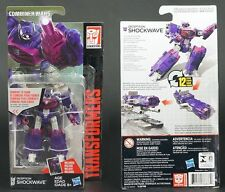 boxed Hasbro TRANSFORMERS SHOCKWAVE 100% complete MIB