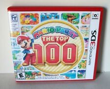 Mario Party The Top 100 Case Artwork Only NO GAME Nintendo 3DS Replacement Empty