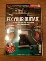 GUITAR MAGAZINE VOL.29 NO.10 ( JULY 2018 )FIX YOUR GUITAR! NATHANIEL RATELIFF
