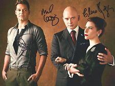 Ricky Martin, Elena Rogers & Michael Cerveris signed 8X10 photo - Exact Proof