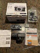 Panasonic Lumix GF9 GF9K Camera With 12-32mm Lens Black HH