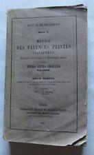 Notice des Fayences peintes italiennes Hispano moresques et  Françaises et des t