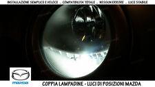 """COPPIA 2 LAMPADINE LED BIANCO GHIACCIO POSIZIONI """"MAZDA TRIBUTE"""" (2000-2008)"""