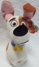 Ty Beanie Babies The Secret Life of Pets Max Plush Jack Russell Terrier Dog