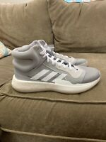 Adidas Marquee Boost Size 11.5 Basketball Shoes Gray and White