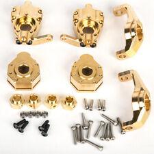 Racing Brass Upgrade Parts Set For 1:10 Trx-4 Rc Cars Crawler Traxxas Trx4 Parts