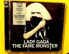 LADY GAGA  - THE FAME MONSTER  -  2 CD ALBUM  2009 NUOVO E SIGILLATO