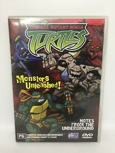 TEENAGE MUTANT NINJA TURTLES Monsters Unleashed! Movie VGC Free Tracked Shipping
